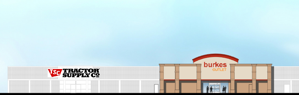 Pleasnton, TX - Burkes Outlet Rendering